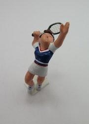 **Miniatyr** Tennisspelare tjej