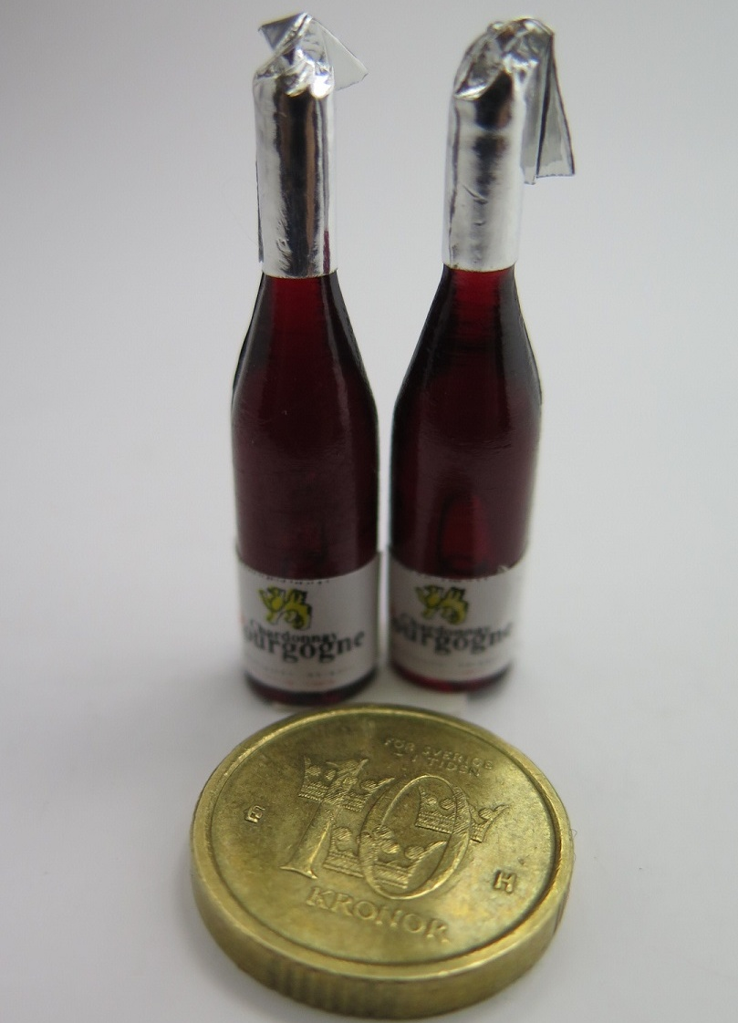 **Miniatyr** Champagneflaskor