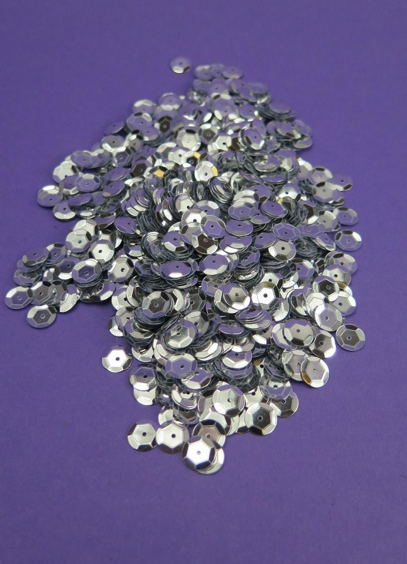 Silver Paljetter