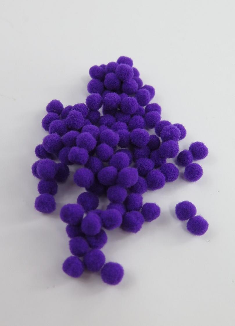PomPoms lila 5mm