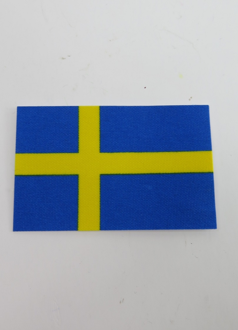 Flagga på tyg