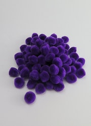 PomPoms lila 10mm