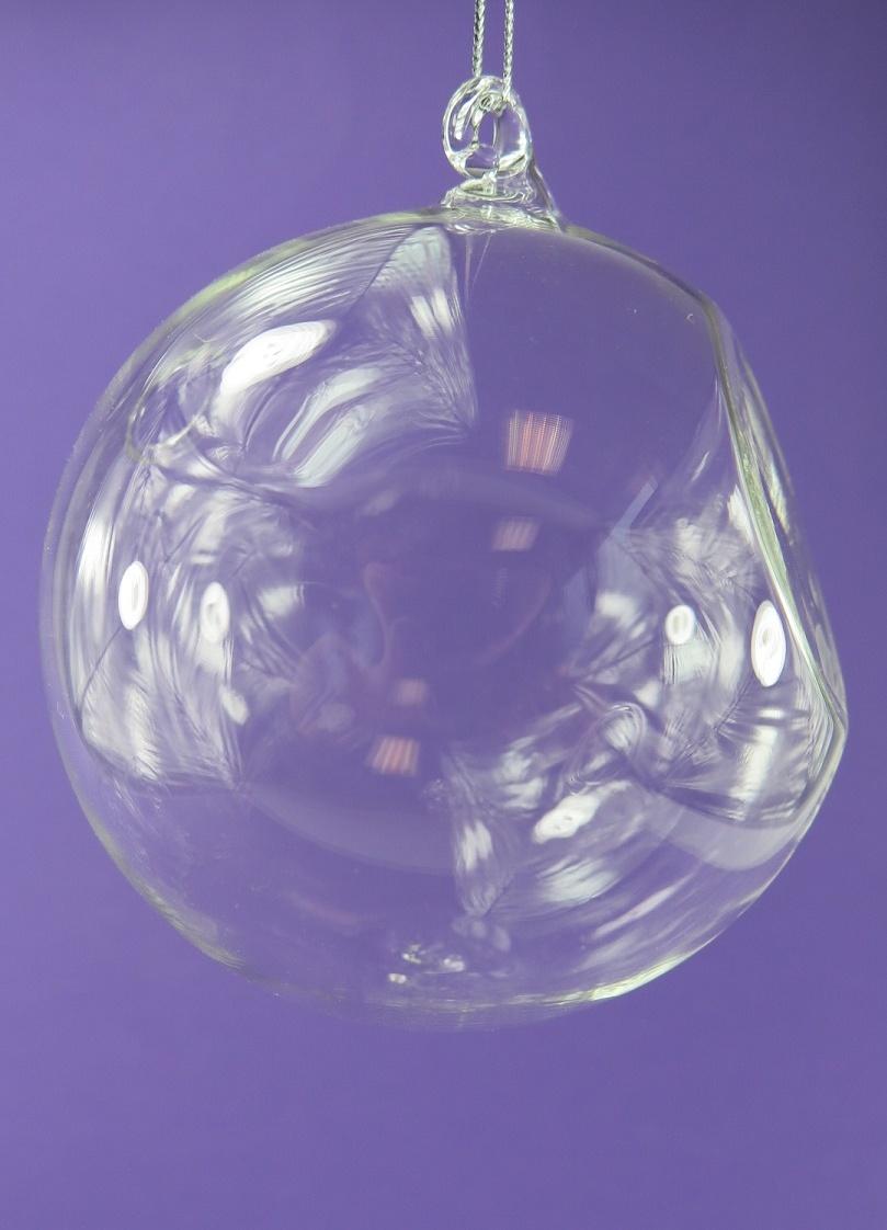 Julgranskulor i glas