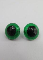 Glasögon med syögla Grön