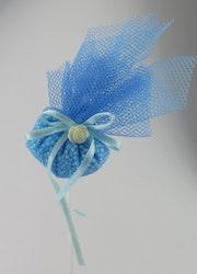 Dekorationspinne blå