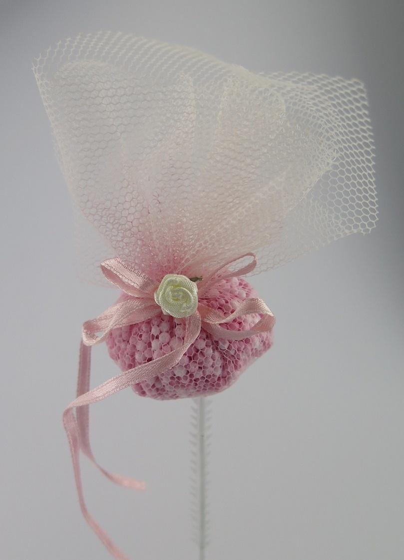Dekorationspinne rosa