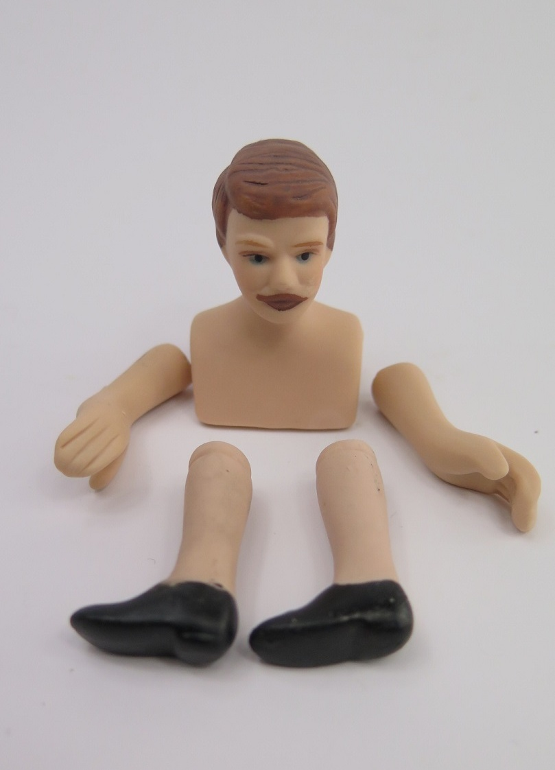 **Miniatyr** gör din egen dockskåpsdocka man