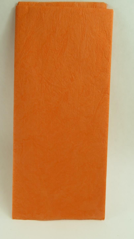 Orange silkespapper