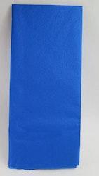 Blått silkespapper
