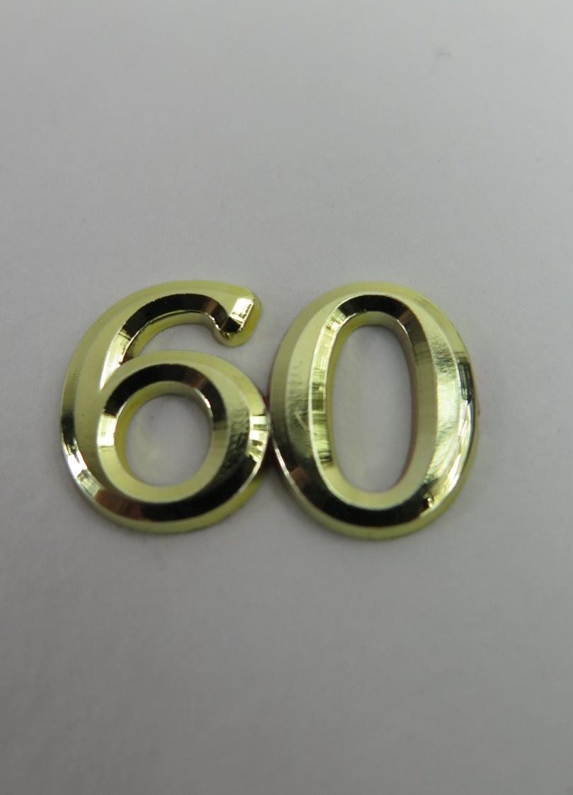 Guldsiffror dekoration nr 60