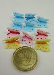**Miniatyr** Fjärilar