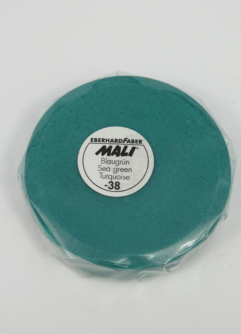 Vattenfärg kakor grön/blå