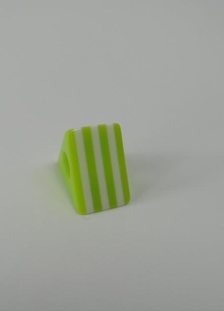Tårtformad pärla Lime