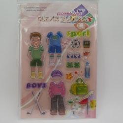 Clear Stamper pojke 2