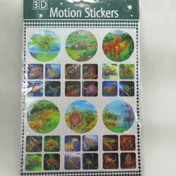 3D Stickers dinosaurier