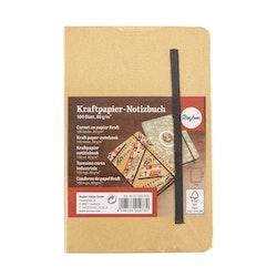 Skrivbok / Notebook med gummiband