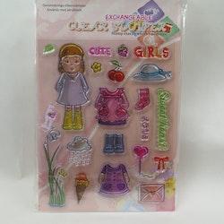 Kopia Clear Stamper Flicka 2