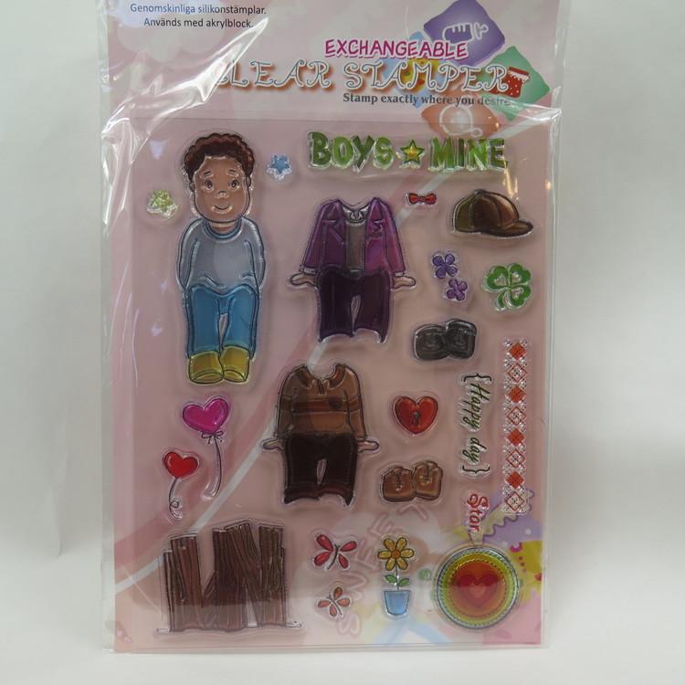 Clear Stamper Pojke 1