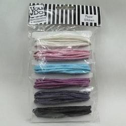 Pappersband 6 färger