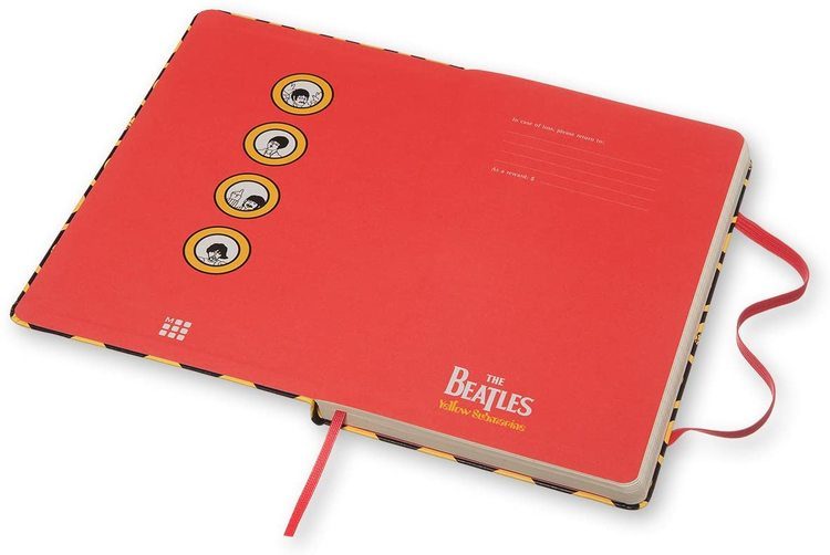 Moleskin Notebook The Beatles