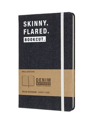 Moleskin Notebook Demin Skinny Flared