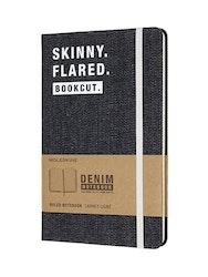 Moleskin Notebook Demin Skinny Flared