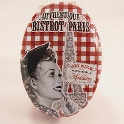 """Retro plåtburk """" Bistrot Paris"""""""