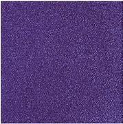 Glitterpapper 30,5x30,5 Plommon