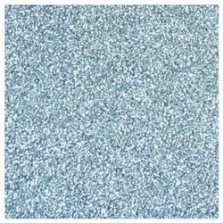 Glitterpapper 30,5x30,5 Doveblå