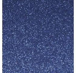 Glitterpapper 30,5x30,5 Royalblå
