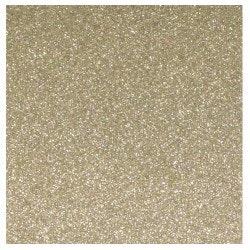 Glitterpapper 30,5x30,5 Cashmere guld