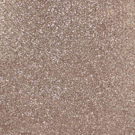 Glitterpapper 30,5x30,5 Bronze