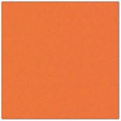 Cardstock - 12x12 - mörktegelorange 939