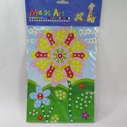 Barn Mosaic art Blomma