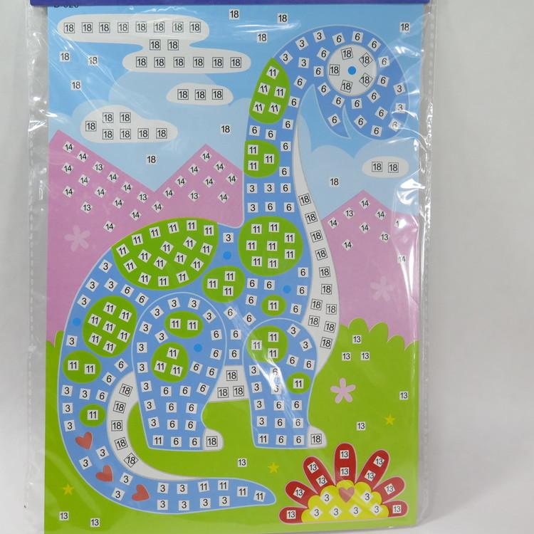 Barn Mosaic art Dino