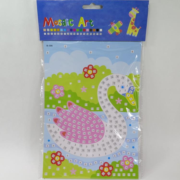 Barn Mosaic art Svan