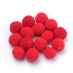 PomPoms röda 30mm