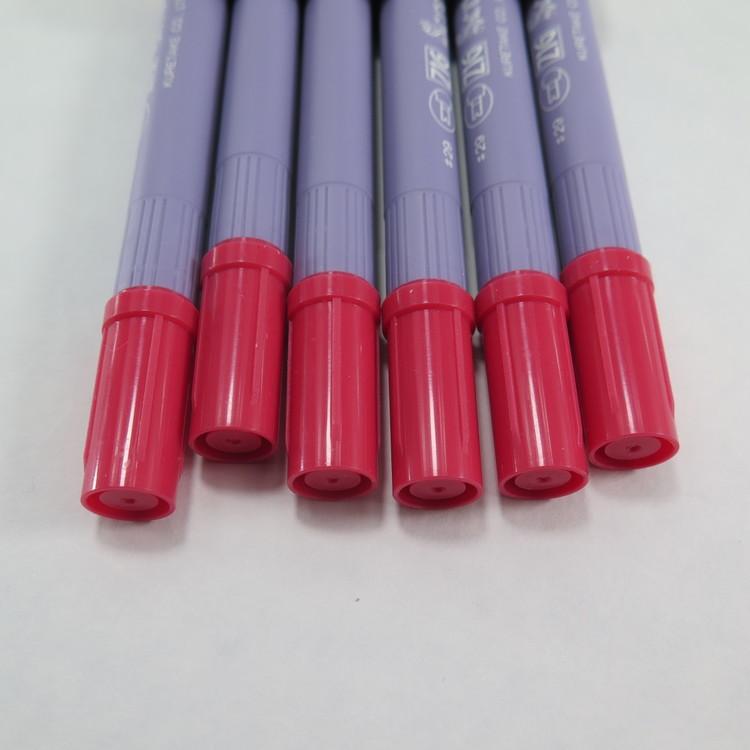 Zig Scroll & Brush tuschpennor 6-p rosa röd