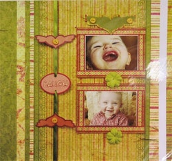 Scrapbooking kit Smile