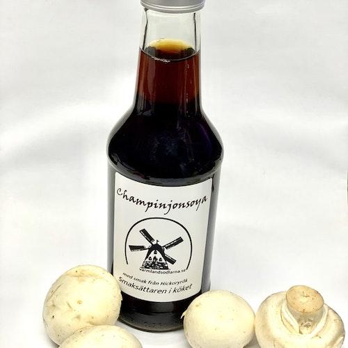 Soya med smak från hickoryrök