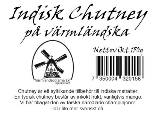 Indisk Chutney