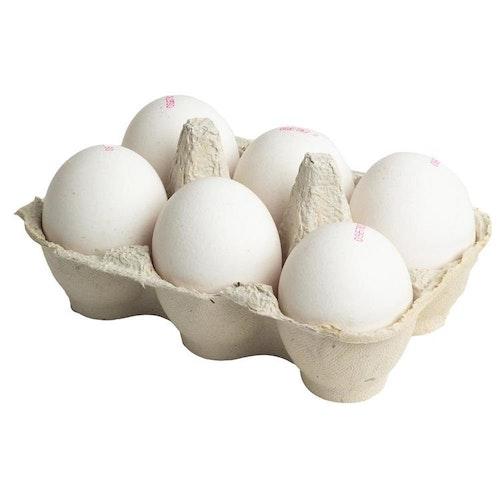 Närproducerade ägg 6 pack Eko
