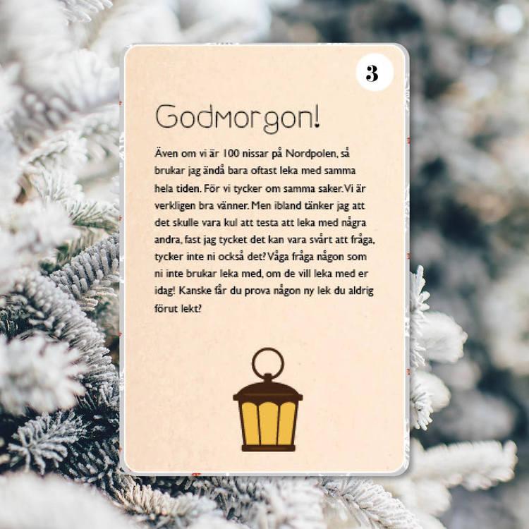En god gärning varje dag (Digitala nissebrev)