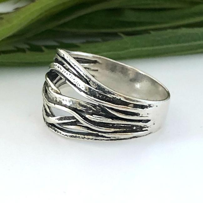 Menuette - Vacker silverring
