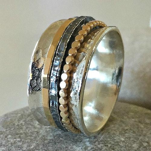 Naomi - Vacker spinningring i silver