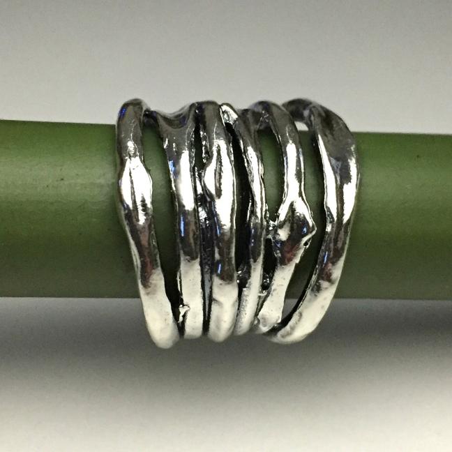 Julie - Rejäl, kraftig och mycket snygg silverring