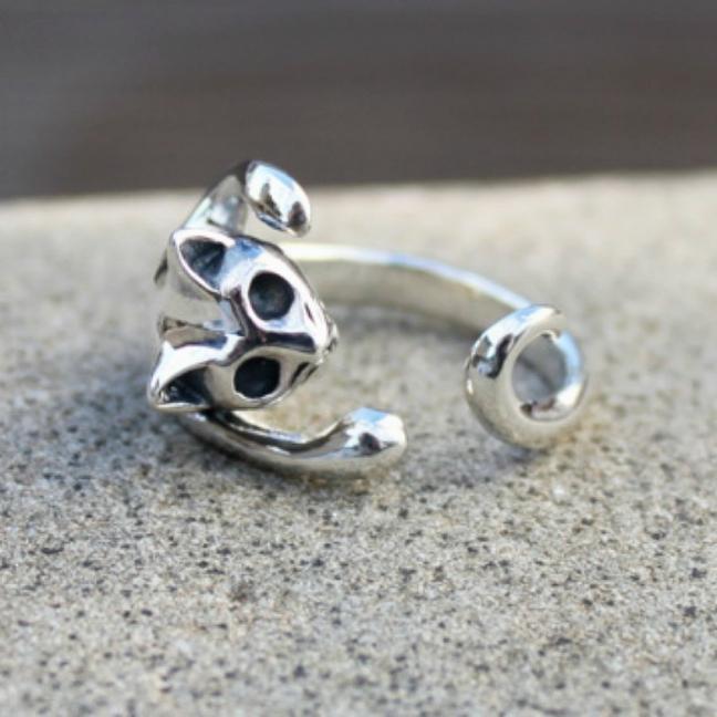 Sigge katt - Underbar silverring