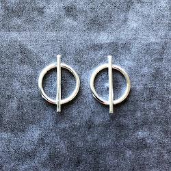 Geneva - Stilrena silverörhängen