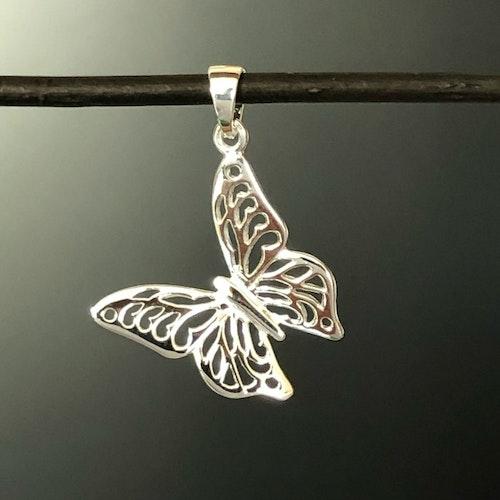 Fjäril - Hänge i silver