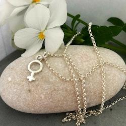Venus - Halsband med liten kvinnosymbol